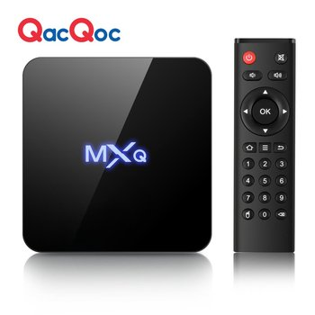 QacQoc MXQ PRO G9CX Android 6.0 TV box with Amlogic S905X 1G/8G with 4KHD RTL8189 WIFI Smart Android Box