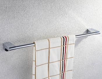 Bathroom Products Solid Brass Chrome Single Towel Bar,chrome Towel Holder,Towel Rack,Bathroom accessories CS008d-2